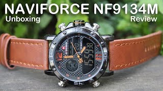 Naviforce NF9134 Dual display Unboxing and review