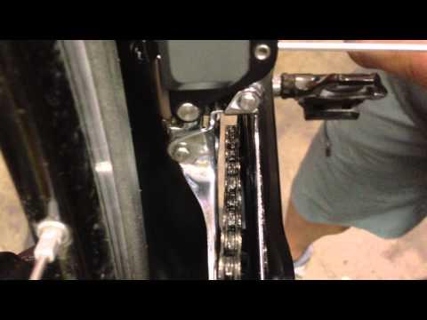 Shimano Di2 Front Derailleur Limit Adjustment