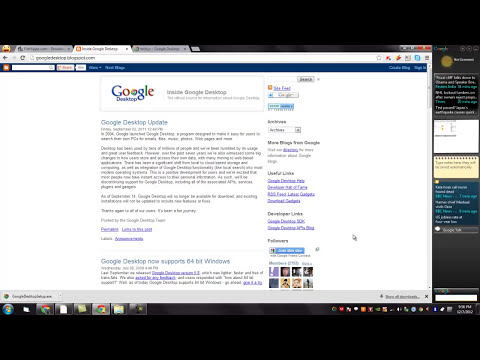 How to use Google Desktop, make your computer searchable! - video tutorial by TechyV