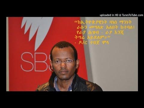 A Response To Ambssador Tirfu Kidane-Mariam- Dr Tebeje Molla - SBS Amharic