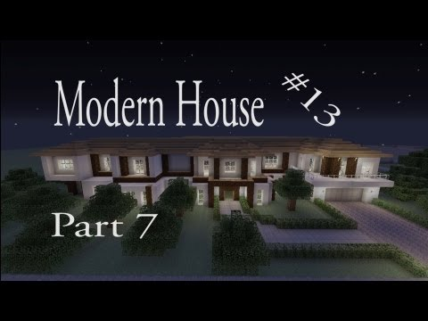Lets Make a Modern House Part 7 in Minecraft Xbox 360 Edition: House #13