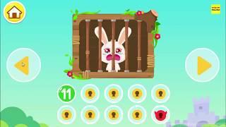 Gấu trúc chiến đấu để giải cứu các bạn trò chơi xúc xắc | Panda play dice to rescue you