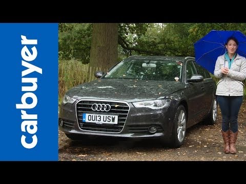 Audi A6 Avant Estate 2014 Review - Carbuyer video
