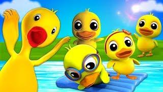 Vịt con vịt con Có Mama | nhac thieu nhi hay nhất | Duckling Duckling  | Farmees Vietnam