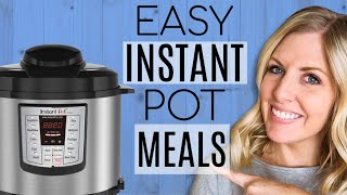 4 EXTREMELY EASY & AFFORDABLE INSTANT POT MEALS - Dump and Go Recipes