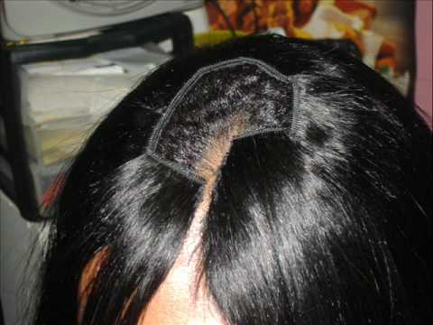 Tutorial of Invisible Part Quick Weave Part 2