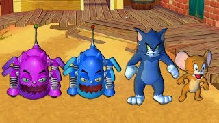 Tom and Jerry in War of the Whiskers - Tom and Jerry vs Two Robocat - Tom & Jerry cartoon game