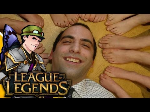 Foot Fetish Fan | League Of Legends video