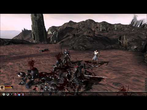Dragon Age 2 walkthrough gameplay Part 1/2