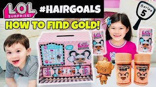 FULL BOX LOL SURPRISE SERIES 5 #HAIRGOALS UNBOXING! ALL RARE L.O.L. HAIR GOALS DOLLS FOUND! MAKEOVER