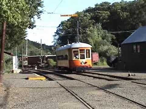Short Beach Day on the Branford Electric Railway