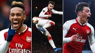 Arsenal Rewind | The best and funniest moments of 2017/18