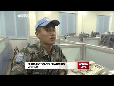 Chinese sniper in Africa: What it takes for a peace mission in Africa.