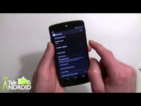 How To Enable Lock Screen Widgets In Android 4.4 Kitkat video