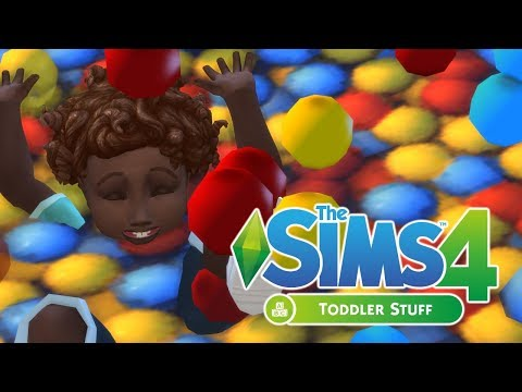The Sims 4: Toddler Stuff | Gameplay First Look |