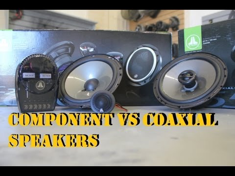 Component vs Coaxial Speakers (JL Audio)