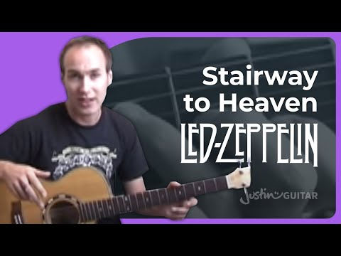 Stairway To Heaven - Led Zeppelin Guitar Lesson Tutorial (1/6)