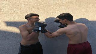 Memswiss vs Daniel Official Boxing Match!!🥊
