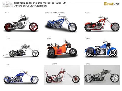 Todas las Motos de American Chopper - OCC