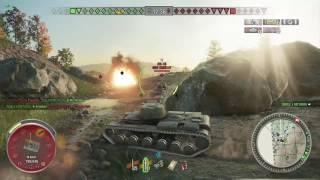 World of Tanks Xbox one KV-1 4 Kills