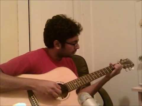jo bhi main - rockstar - (finger picking style) acoustic guitar...