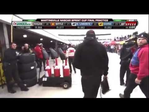 (HD) Kevin Harvick and Greg Biffle FIGHT at Martinsville 10/29/11