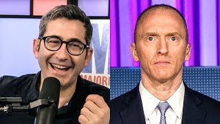Sam Seder Has Run-in With Carter Page Backstage at MSNBC