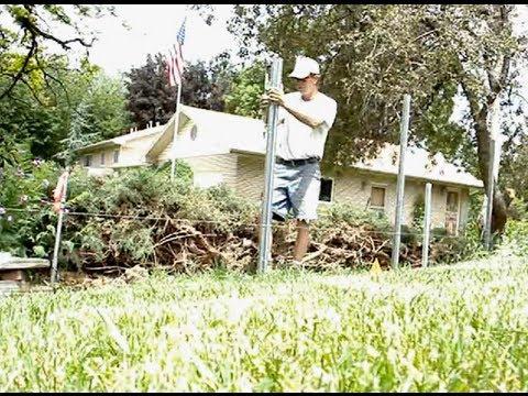 Setting Fence Posts