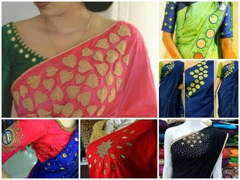 Amazing Aari Maggam work designs for Saree,Chudidhar,Blouse