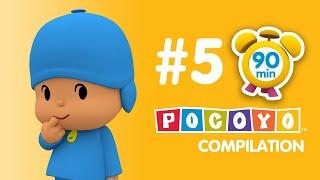 Pocoyo - 90 minutes of educative fun for kids! PART 5