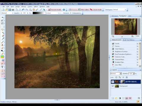 Как сделать плавный переход одной картинки в другую в фотошопе