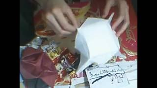 Origami Ep 12 :how To Make A  Simple Asian Sweet Box (lazy Susan )