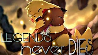 Pokemon [ AMV ] - Legends never die - All epic scenes-(2017 anthem of LEAGUE OF LEGENDS)