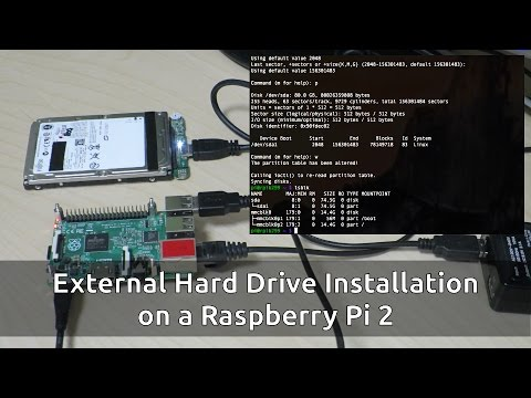 Raspberry Pi 2 External Hard Drive Installation: Part 3 - a Step-by-Step Guide!