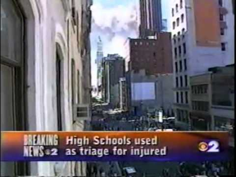9/11/01: LIVE NEWS FOOTAGE AS IT HAPPENED
