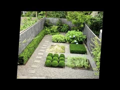Designing Your Townhouse Garden: Landscape Design - YouTube