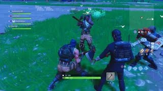 Funny fortnite glitch!