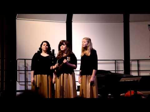 Blue Christmas Santa Rosa High School Winter Choir Concert 12/15/12