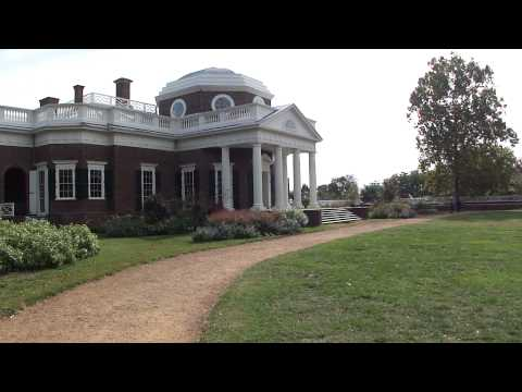 Monticello in Albemarle County, Virginia