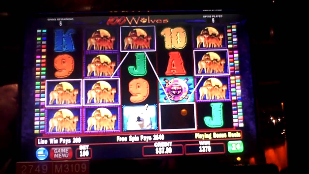 100 wolves slots winners
