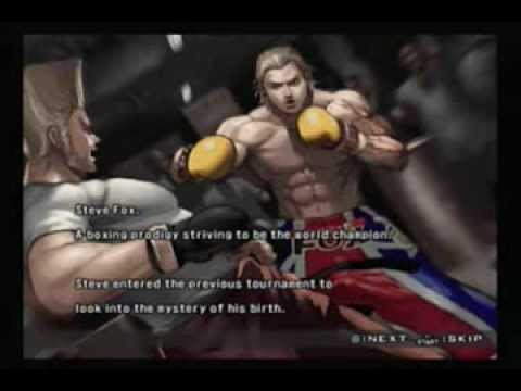 Tekken 5 - Steve video