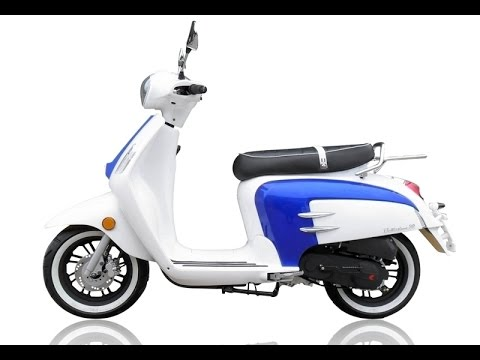 Chinese Scooters...Wildfire 50cc Scooter Ride