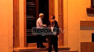 Report TV - Përfundon takimi,Rama një orë në zyrën e Xhafajt