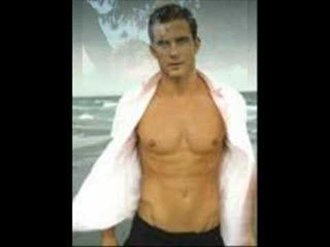 hombres guapos todos con camisa abierta open shirt Video