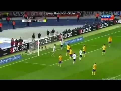 image vidéo Allemagne - Suède, un match de folie Avec Zlatan Ibrahimovic (Allemagne 4 - 4 Suède)