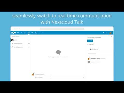 Nextcloud integrates collaboration