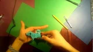 #2 Yakomoga - Origami Puppy By Katsuta Kyouhei Tutorial (part 3 Of 3)