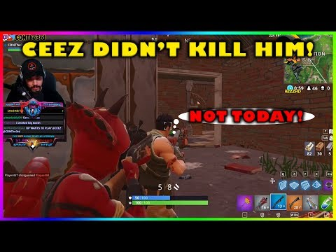 WHEN SNEAKING UP ON YOUR PREY GOES WRONG!!! - Fortnite highlights #199