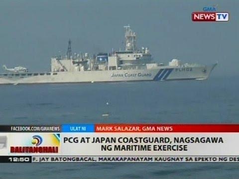 BT: PCG at Japan Coastguard, nagsagawa ng maritime exercise
