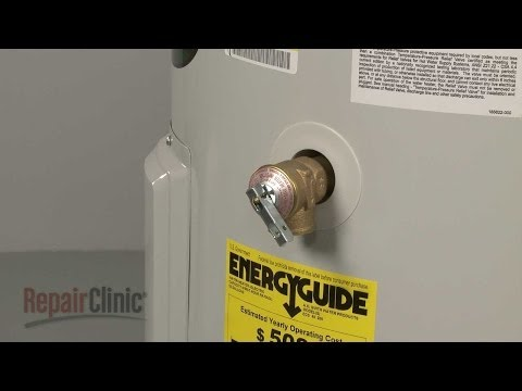 Water Heater Temperature & Pressure Relief Valve - AO Smith Electric Water Heater